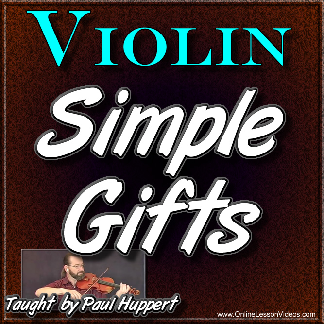 SIMPLE GIFTS - WITH SHEET MUSIC