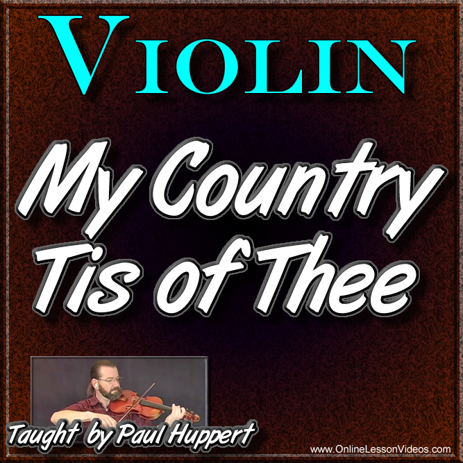 My Country Tis Of Thee - With Sheet Music
