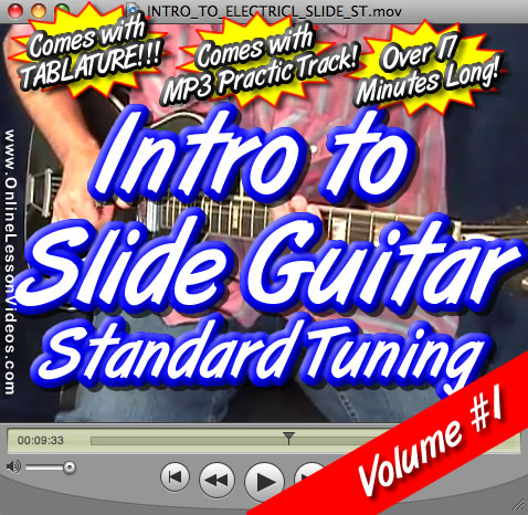 Intro To Slide Guitar - Volume #1