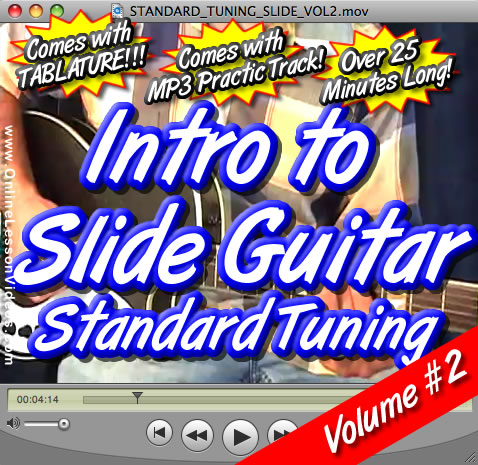 Intro to Slide Guitar Volume #2