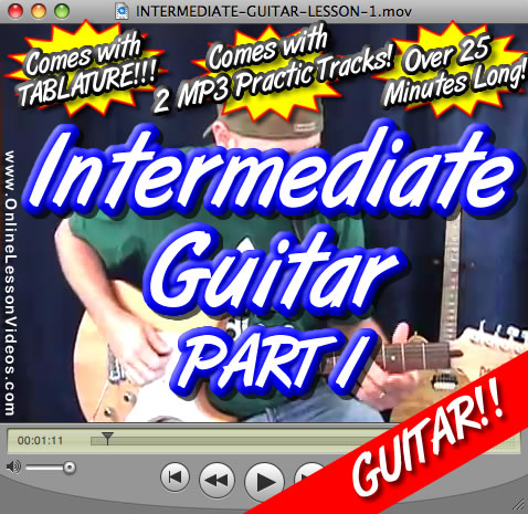 INTERMEDIATE GUITAR LESSON - PART 1