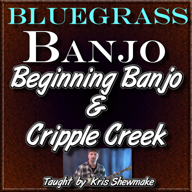 Beginning Banjo Lesson + Cripple Creek