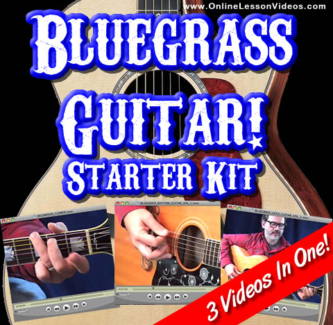 Bluegrass Guitar Starter Kit