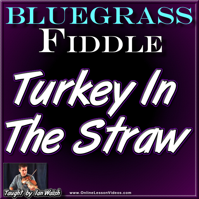 Turkey In The Straw - For Fiddle