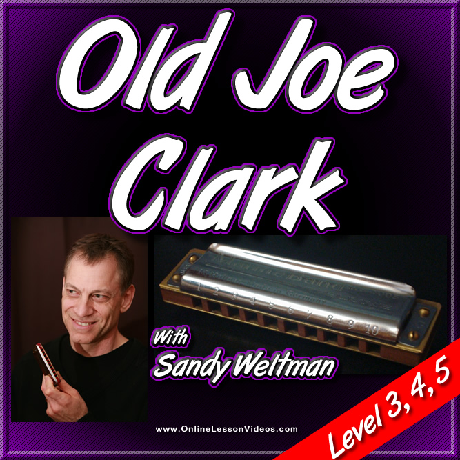 Old Joe Clark - For Harmonica