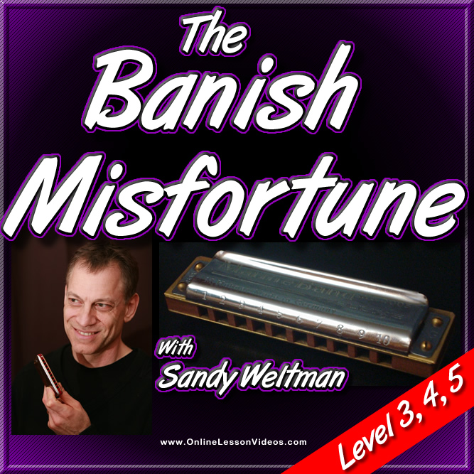 Banish Misfortune - Irish song for Harmonica