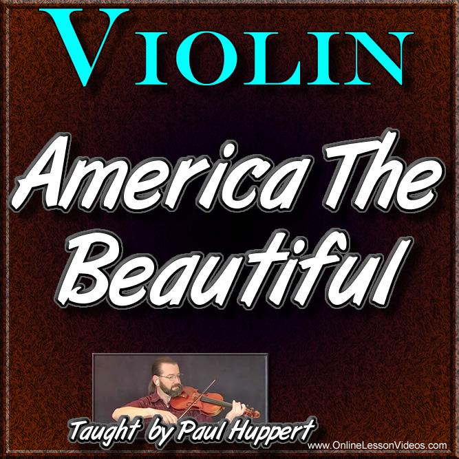America The Beautiful - Classical Violin Lesson