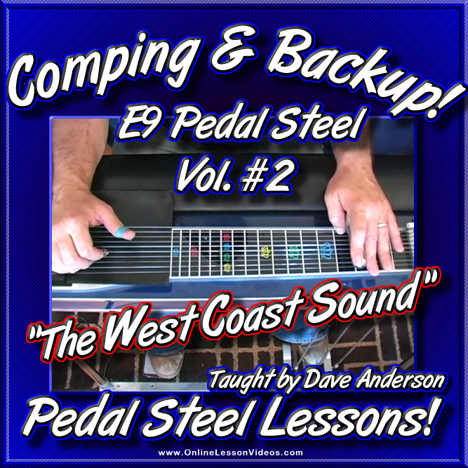 Comping And Backup Volume 2 The West Coast Sound For E9 Pedal