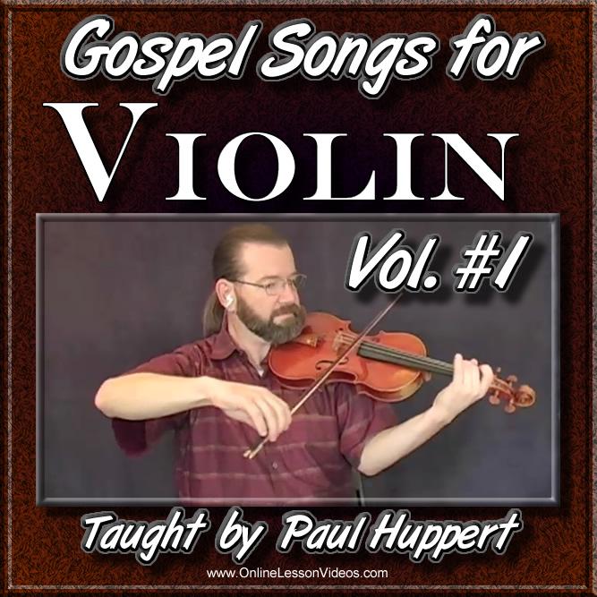 Gospel Songs For Violin - Volume 1