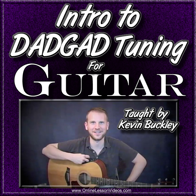 Intro to DADGAD Tuning for Guitar