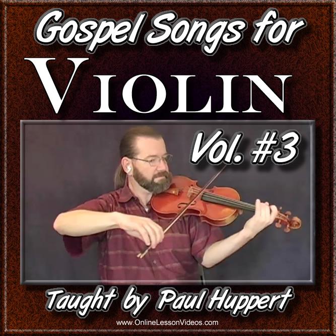 Gospel Songs for Violin - Volume 3