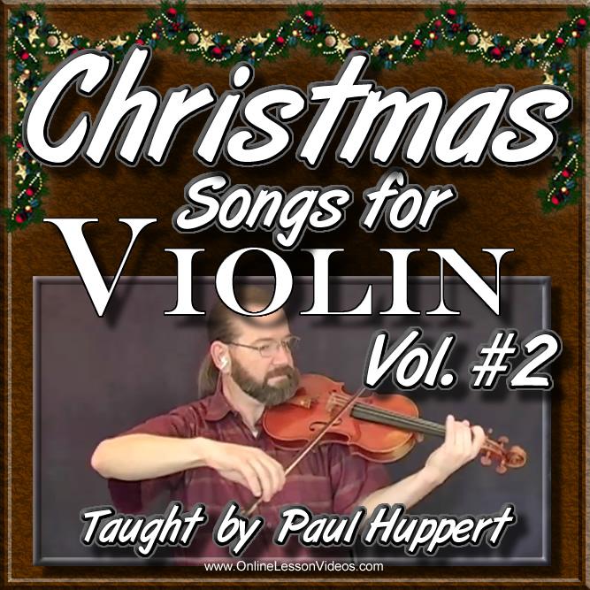 CHRISTMAS SONGS For Violin - Volume 2