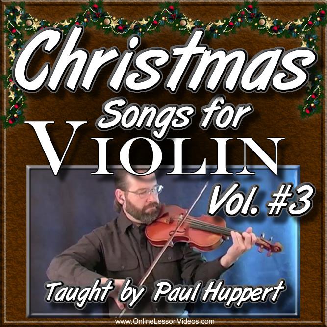 CHRISTMAS SONGS For Violin - Volume 3