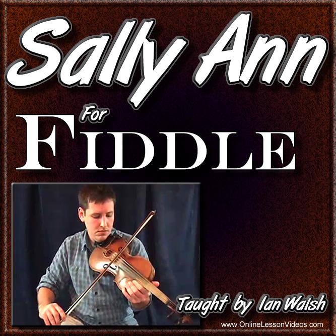 Sally Ann - for Bluegrass Fiddle