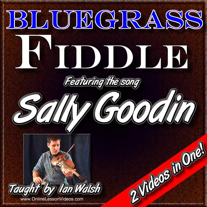 SALLY GOODIN - Bluegrass Fiddle Masterclass Lesson