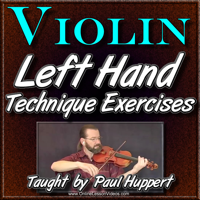 Left Hand Exercises for Classical Violin