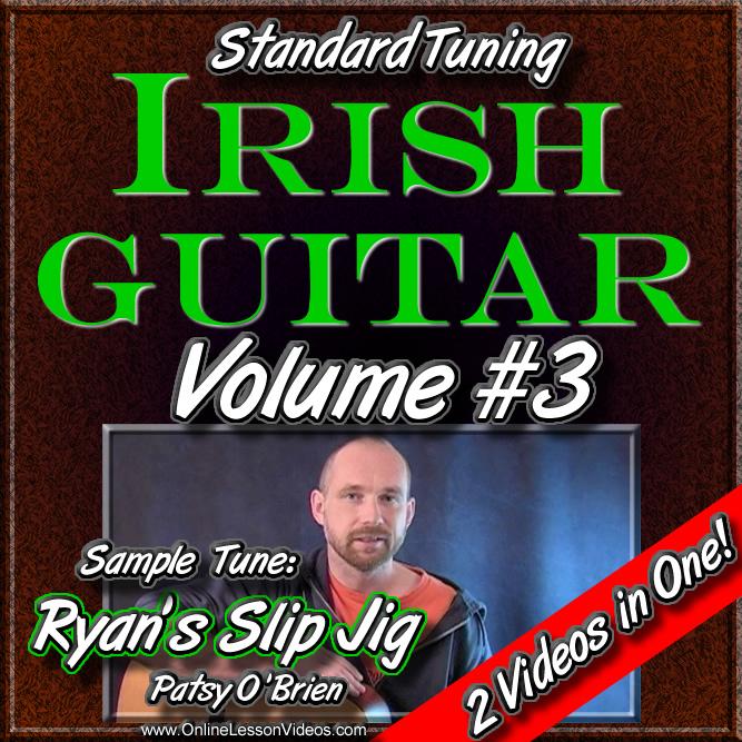 Irish Guitar - Standard Tuning - Volume #3
