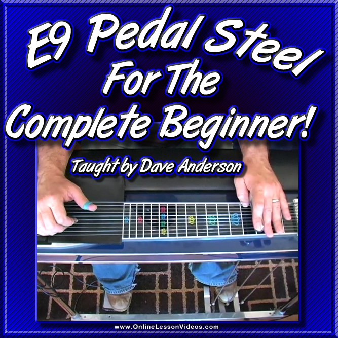 E9 Pedal Steel For The Complete Beginner
