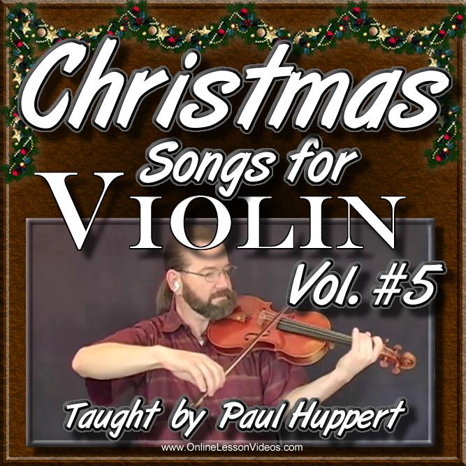 CHRISTMAS SONGS For Violin - Volume 5