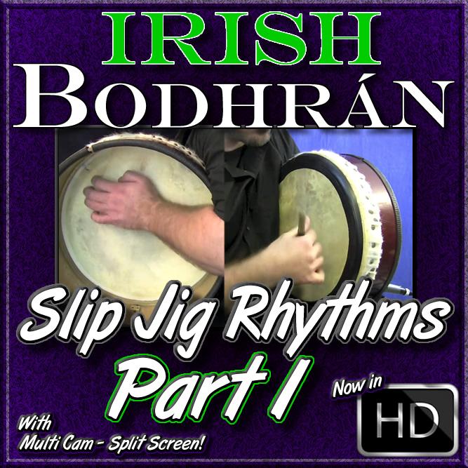 Bodhrán - Slip Jig Rhythms - Part 1