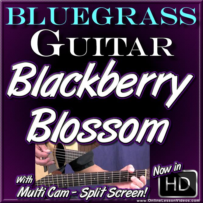 BLACKBERRY BLOSSOM - Bluegrass Guitar Lesson