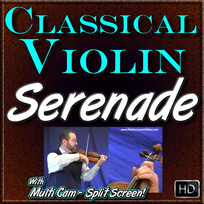 SERENADE - by Franz Schubert - for Classical Violin