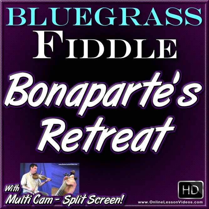 BONAPARTE'S RETREAT - for Bluegrass Fiddle