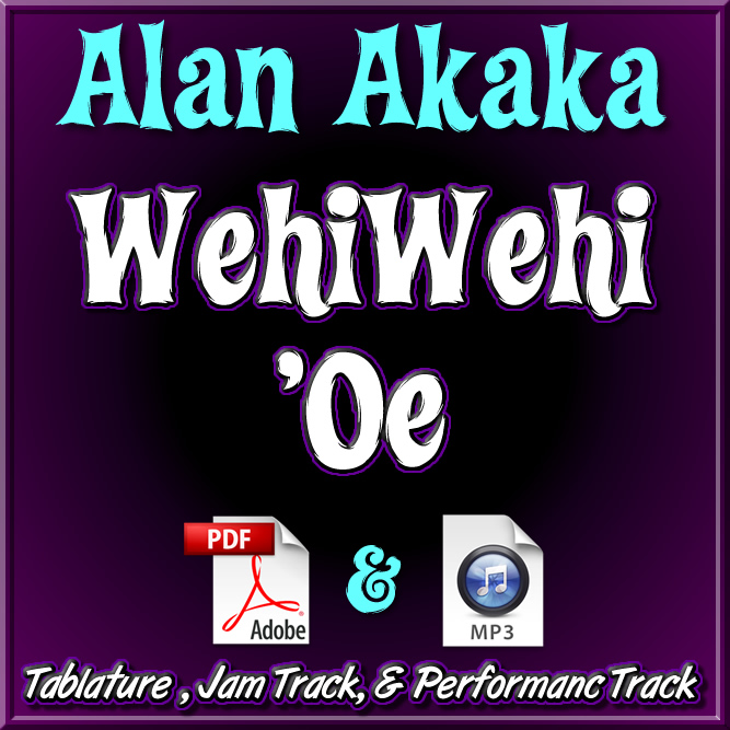 WehiWehi 'Oe - arr. by Alan Akaka