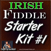 IRISH FIDDLE STARTER KIT VOL #1