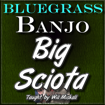 BIG SCIOTA - For Banjo - WITH TABLATURE!