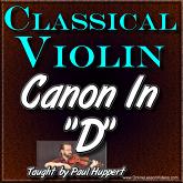 CANON IN D + SHEET MUSIC