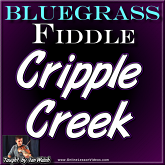 CRIPPLE CREEK - Bluegrass Fiddle Lesson