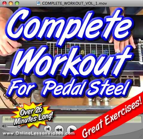 The Complete Workout - Volume 1 for Pedal Steel