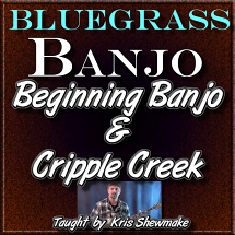Beginning Banjo Lesson + Cripple Creek