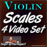 Scales For Violin