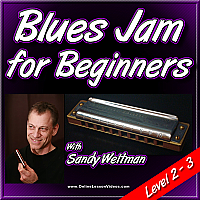 Blues Jam for Beginners - for Harmonica
