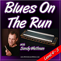 Blues On The Run - for Harmonica