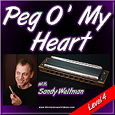 Peg O' My Heart - Jazz Harmonica Lessons