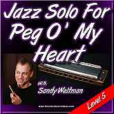 Jazz Solo - Peg O' My Heart