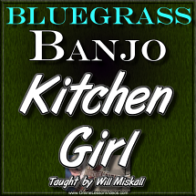 Kitchen Girl - for Banjo