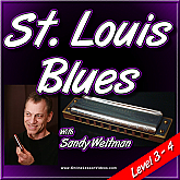 Saint Louis Blues - For Harmonica