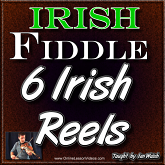 6 Irish Reels - Beginner Irish Reel Package - 6 Full Lessons!