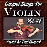 Gospel Songs For Violin - Volume 1