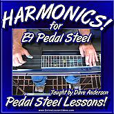 HARMONICS - For E9 Pedal Steel