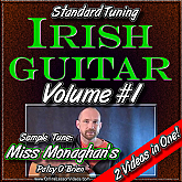 Irish Guitar - Standard Tuning - Volume #1