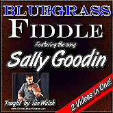 SALLY GOODIN - Bluegrass Fiddle Masterclass Lesson