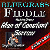 Man Of Constant Sorrow - Bluegrass Fiddle Masterclass