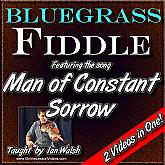Man Of Constant Sorrow - Bluegrass Fiddle Masterclass