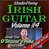 Irish Guitar - Standard Tuning - Volume #4