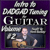 Intro to DADGAD Tuning for Guitar - Volume #2